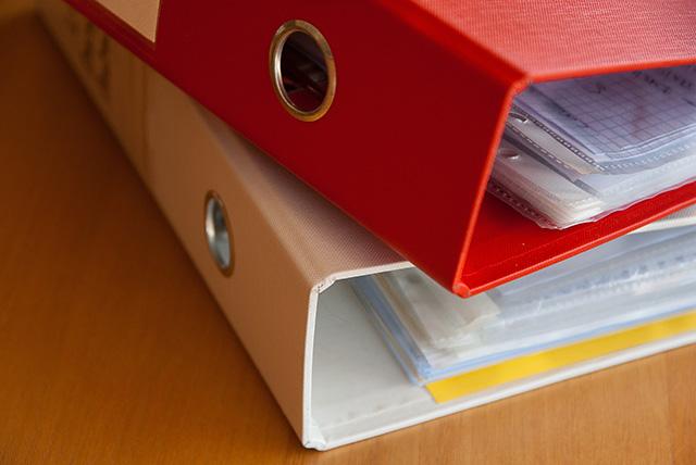纸质分档管理