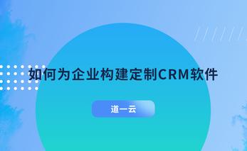定制CRM软件